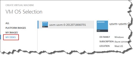 Azure VM Disks
